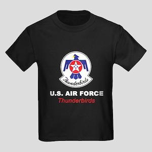 United States Air Force Thunderb Kids Dark T-Shirt