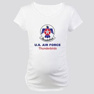 United States Air Force Thunderb Maternity T-Shirt