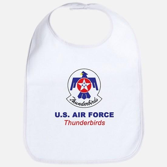 United States Air Force Thunderbir Cotton Baby Bib