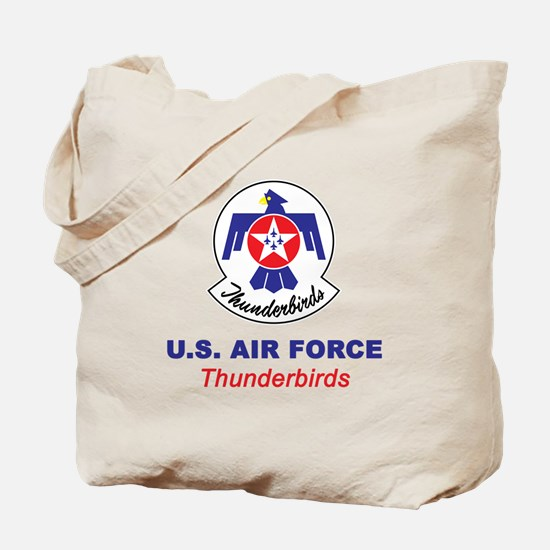 United States Air Force Thunderbirds Tote Bag