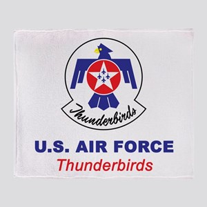 United States Air Force Thunderbirds Throw Blanket