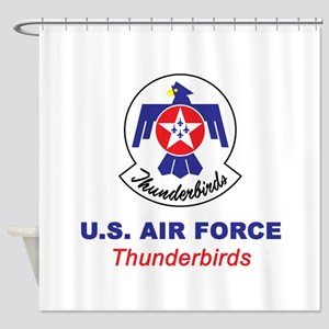 United States Air Force Thunderbird Shower Curtain