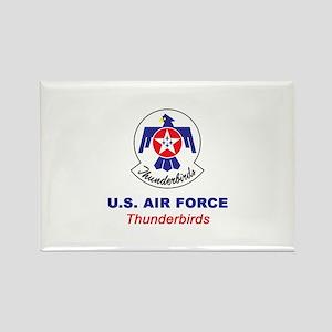 United States Air Force Thunderbi Rectangle Magnet
