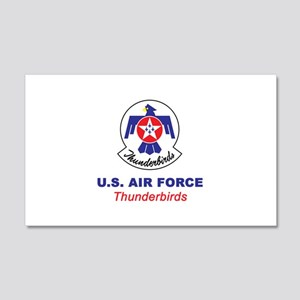 United States Air Force Thunderbi 20x12 Wall Decal