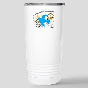 Wonderful Inspirational Stainless Steel Travel Mug