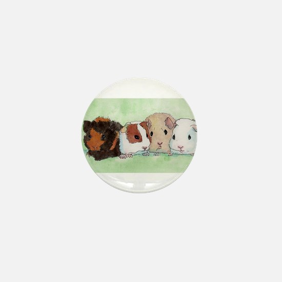 Cool Guinea pigs Mini Button
