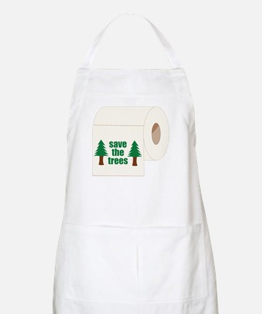 Save The Trees! BBQ Apron