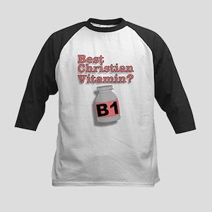 """3-D Christian Vitamins"" Kids Baseball Jersey!"