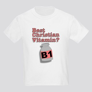 """3-D Christian Vitamins"" Kids T-Shirt!"