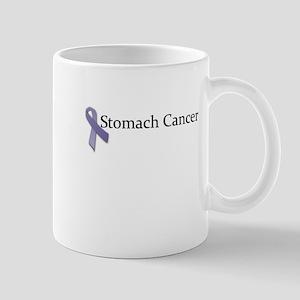 Stomach Cancer Ribbon Mug