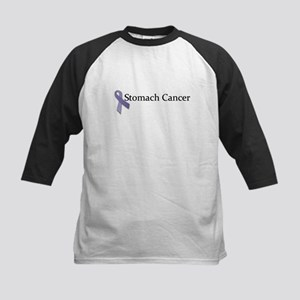 Stomach Cancer Ribbon Kids Baseball Jersey