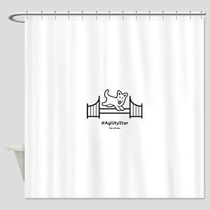 Agility Star Shower Curtain