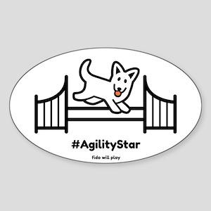 Agility Star Sticker
