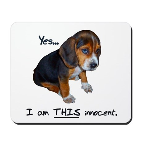 Innocent Puppy Mousepad