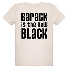 Barack is the New Black Organic Kids T-Shirt