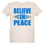 Believe in Peace Organic Kids T-Shirt