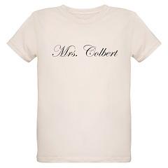 Mrs. Colbert Organic Kids T-Shirt
