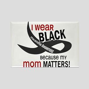 I Wear Black For My Mom 33.2 Rectangle Magnet