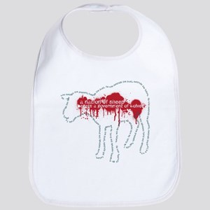 A Nation of Sheep Bib