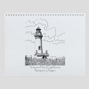 Yaquina Head Lighthouse Wall Calendar