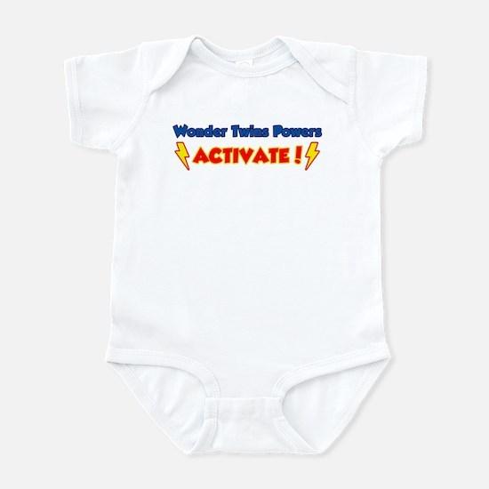 Wonder Twins Powers Activate! Infant Bodysuit
