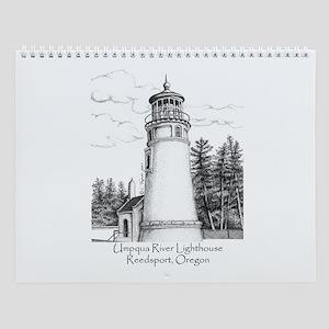 Umpqua River Lighthouse Wall Calendar
