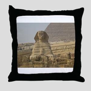 sphinx 123 Throw Pillow