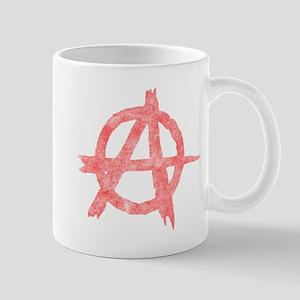 Vintage Anarachy Symbol Mug