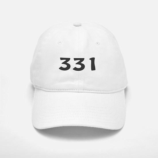 331 Area Code Baseball Baseball Cap