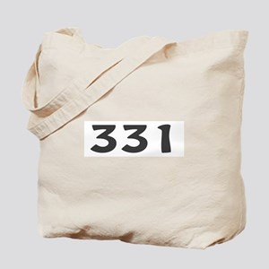 331 Area Code Tote Bag