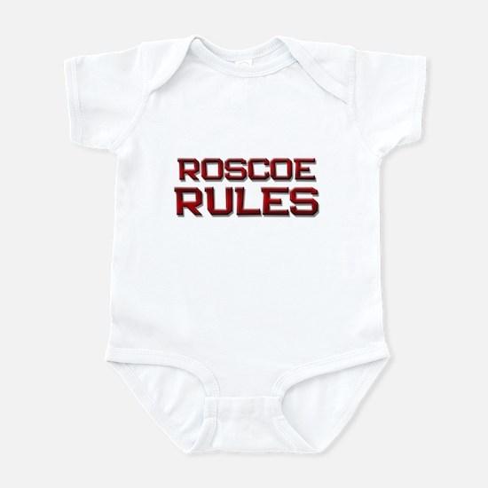 roscoe rules Infant Bodysuit