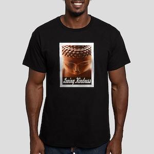 LOVING KINDNESS Men's Fitted T-Shirt (dark)