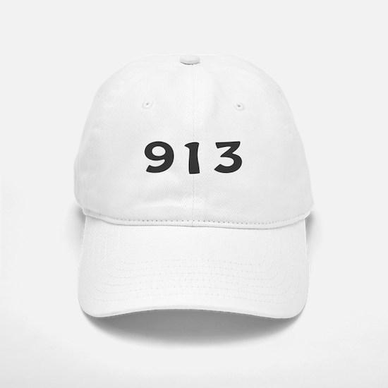 913 Area Code Baseball Baseball Cap