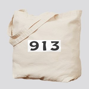 913 Area Code Tote Bag