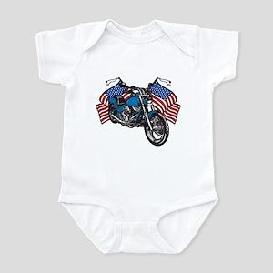 American Biker Infant Bodysuit