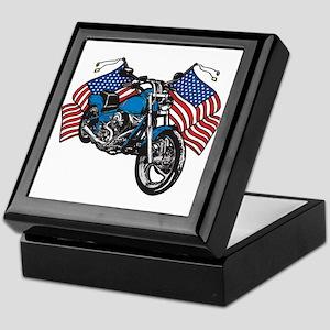 American Biker Keepsake Box