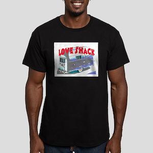 LOVE SHACK (TRAILER) Men's Fitted T-Shirt (dark)