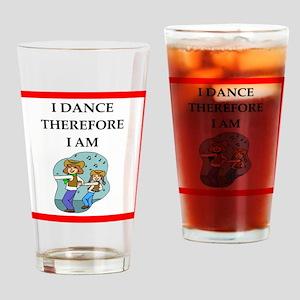 line dancing Drinking Glass