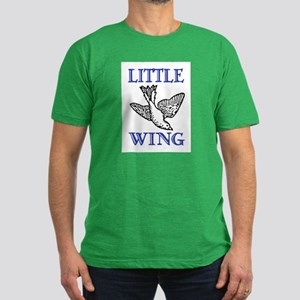 LITTLE WING Men's Fitted T-Shirt (dark)