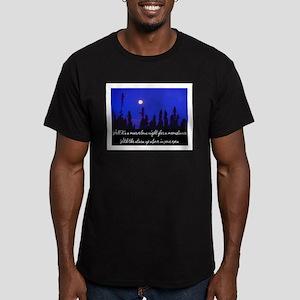 MOONDANCE Men's Fitted T-Shirt (dark)