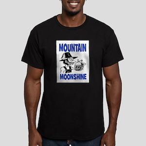 MOUNTAIN MOONSHINE Men's Fitted T-Shirt (dark)