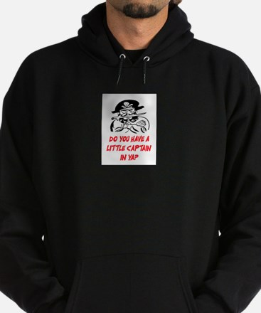 GOT A LITTLE CAPTAIN IN YA? Hoodie (dark)