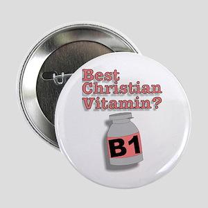 """3-D Christian Vitamins"" Button!"