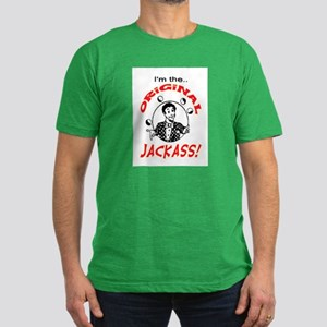 ORIGINAL JACKASS Men's Fitted T-Shirt (dark)