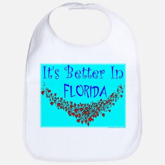 It's Better In Florida #9 Bib