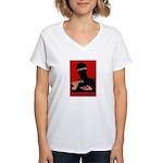 Killing You Softly Women's V-Neck T-Shirt