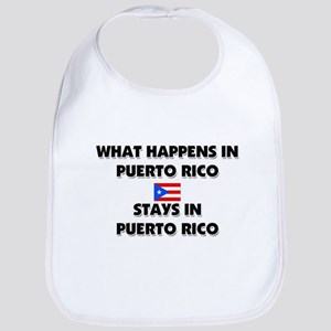 What Happens In PUERTO RICO Stays There Bib