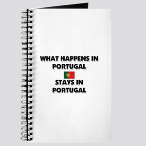 What Happens In PORTUGAL Stays There Journal
