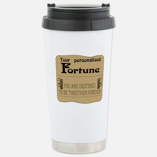 Fortune Card Stainless Steel Travel Mug
