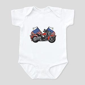 American Biker 1 Infant Bodysuit